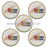 Custom tin badge