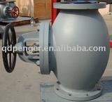 marine cast iron globe valve JIS F7305