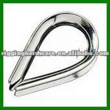 Galvanized Steel Wire Rope Thimble for Construction