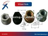 Revolving wheel nut for heavy truck