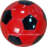 Rongtai promotion&gifts football(size 5, machine stitched, PVC, rubber bladder)