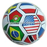 New style!!!promotion toy/size5 machine stitched soccer ball/football