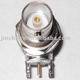 Nut connector/BNC connector/BNC Jack