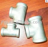 Malleable iron pipe fitting din tee(equal,reducing)