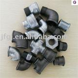 Galvanized and Black malleable iron pipe fittings