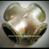 malleable cast iron pipe fittings crosses