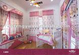 lovely children curtain fabric and kids curtain
