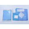 Disposable heart valve replacement surgery package