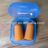 foamed PU earplug with container