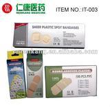 Wound adhesive plaster