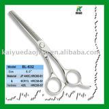 Steel scissors/hair shear/thinning scissors