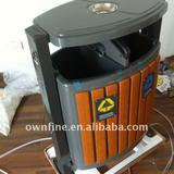 For Street or Park Use Metal Rubbish Bins
