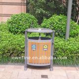 Outdoor Metal Trash Bin with High Sales Volume