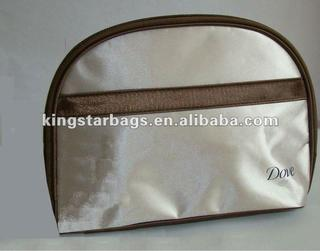 Fashion microfiber makeup bag