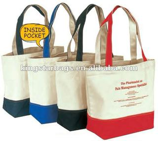 16oz canvas shopping bag