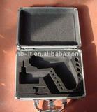 aluminum tool case with custom foam