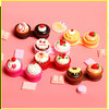 3Dcake case Contact Lens Case Contact Lens dual case, colorful lens dual case, contact lens cases, contact lens box.