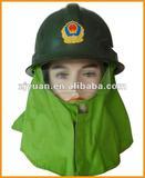 Fire Helmet/ safety helmet/ fireman helmet/ helmet with goggle/ work helmet with amice