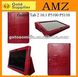 Wholesale Slim Leather Stand Case Cover for Samsung Galaxy Tab 2 10.1 P5100 P5110