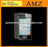 Screen Protector Skin LCD Guard Cover for iPhone 4 4s with retail pcakage