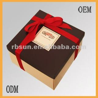 new style design chocolate gift box