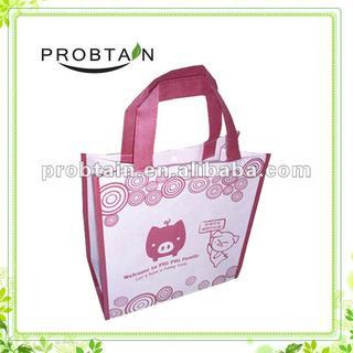 Cute cartoon nonwoven bag