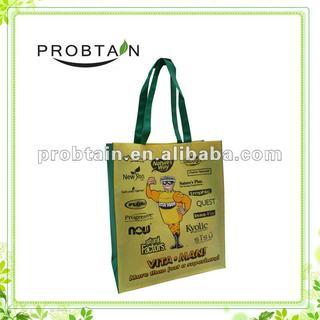 Cute cartoon non woven promotional bag