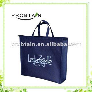 non woven bag with zipper closure