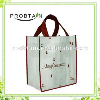 nonwoven promotional bag for Christmas