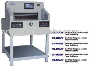 Electrical Numerical-Control & Program-Control Paper Guillotine