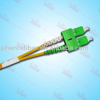 Fiber optic SC Duplex patch cord