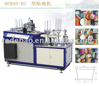 paper bowl overcoating packing machine