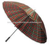 27inch 16 ribs golf umbrella metal shaft