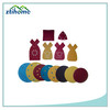 Many types 7 inch round abrasive velcro disc pads