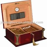 luxury solid wooden humidor box Cigar box