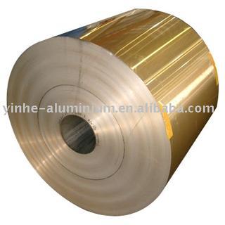 golden hydrophilic aluminum fin