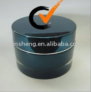Cosmetic Clear Round Packaging Acrylic Jar