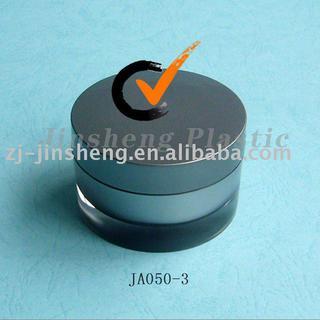 ABS Single Wall Cap Cosmetic Round Moisture Cream Jars