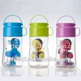 Promotion gift bpa free water bottle of 750ml with hander(braces)