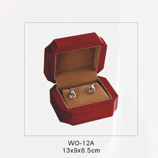 Elegant Glossy  Earring Wooden Box