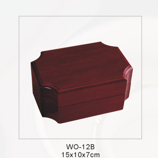 Elegant Glossy Ring Wooden Box