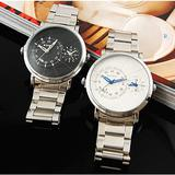 2 to display the time     double movement watch