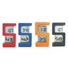 S shape clock digital clock 5 shape clock