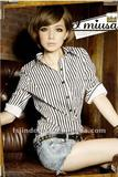 New Women Slim vertical striped shirt/Lady shirt/Blouses =LD-CS034