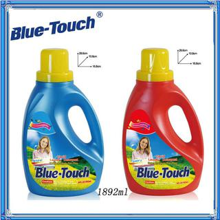 Blue-Touch Liquid Laundry Detergent for High Efficiency Machines-64.oz with natural and flowery scent(pack of 8)