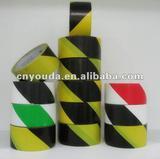 high quality stripe pvc caution tape