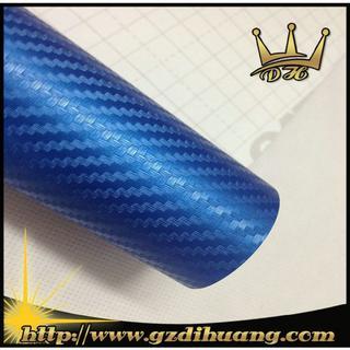 Blue 3D Carbon fiber