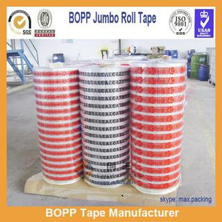 Clear Industrial Cheap Acrylic Jumbo rolls OPP Tape