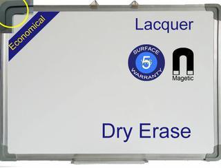 magnetic economical white board
