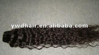 100% unprocessed full cuticle wavy virgin brazilian hair for wholesale/natural wavy brazilian hair